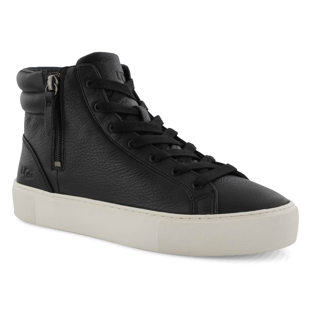 Women's OLLI black high top sneakers