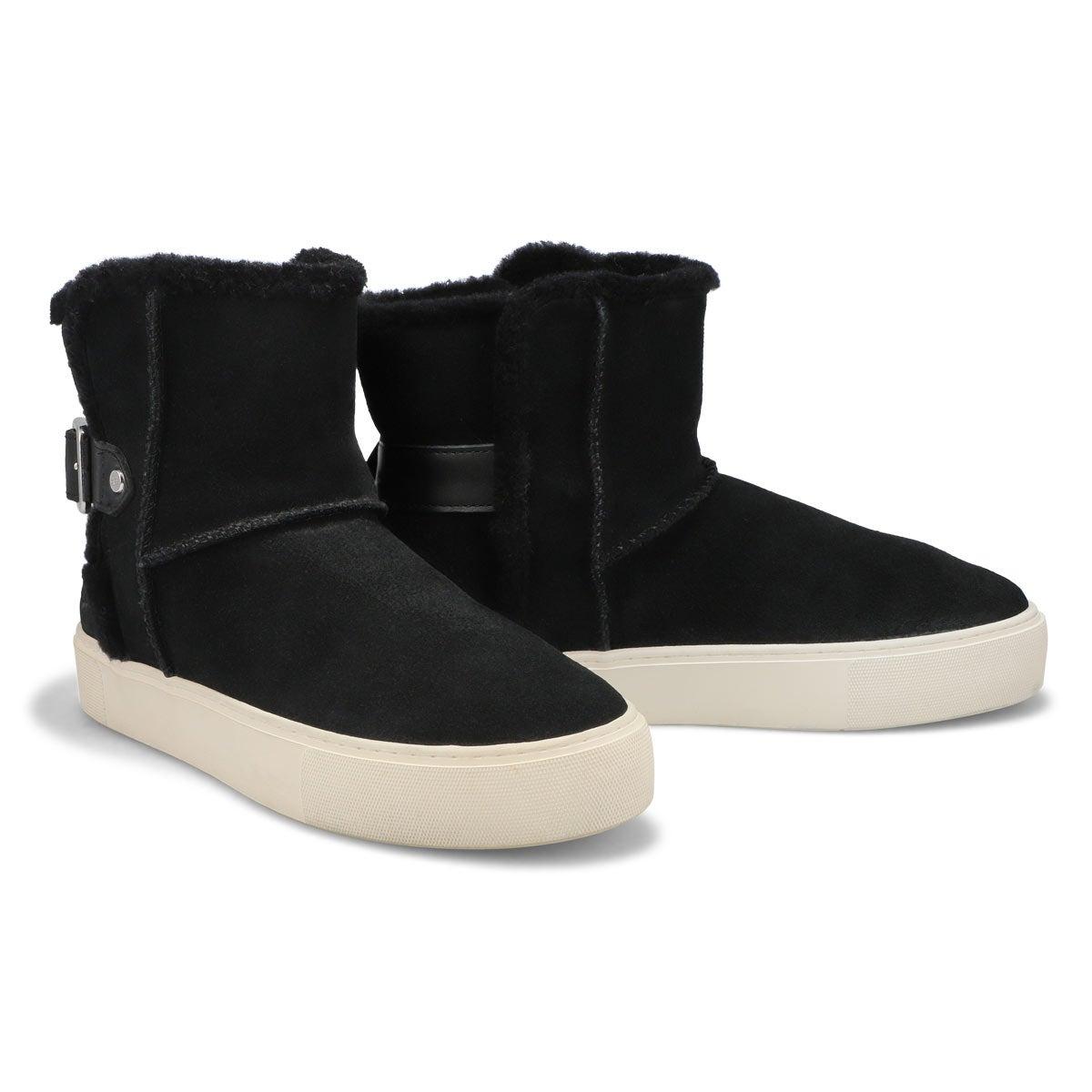 Lds Aika black slip on boot