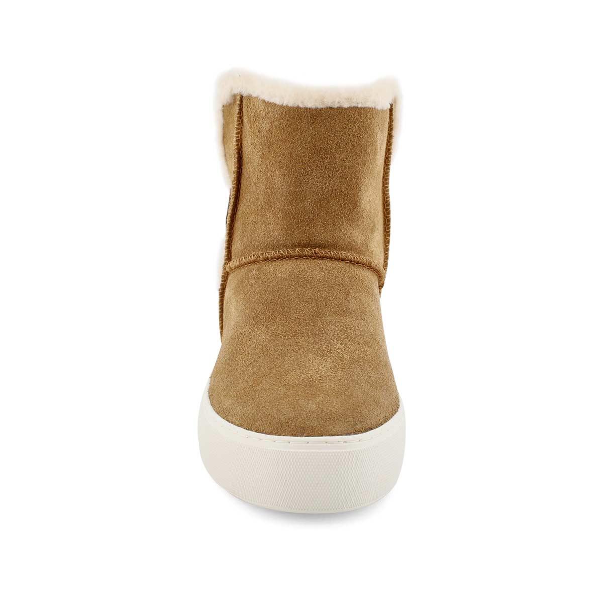 Lds Aika chestnut slip on boot