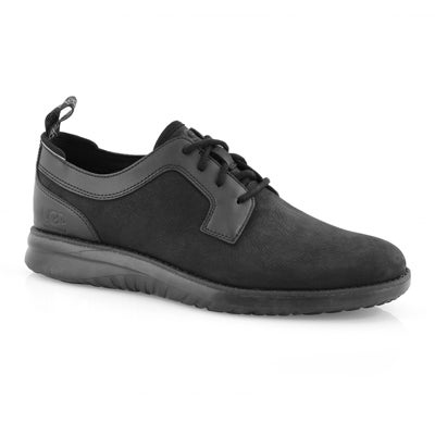 Mns Union Derby black wtpf lace up shoe
