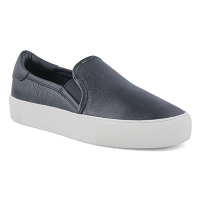 Lds Jass black slip on shoe