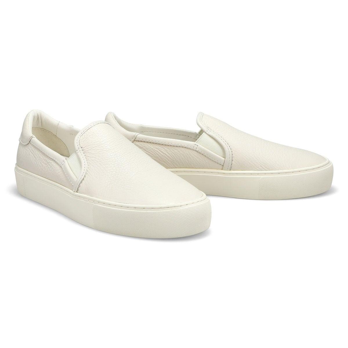 Lds Jass white slip on shoe