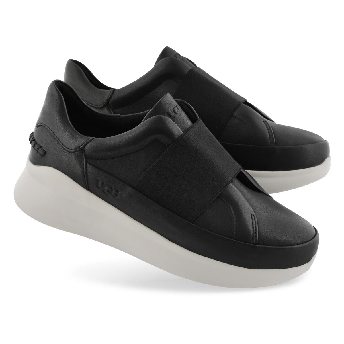 Lds Libu black slip on sneaker