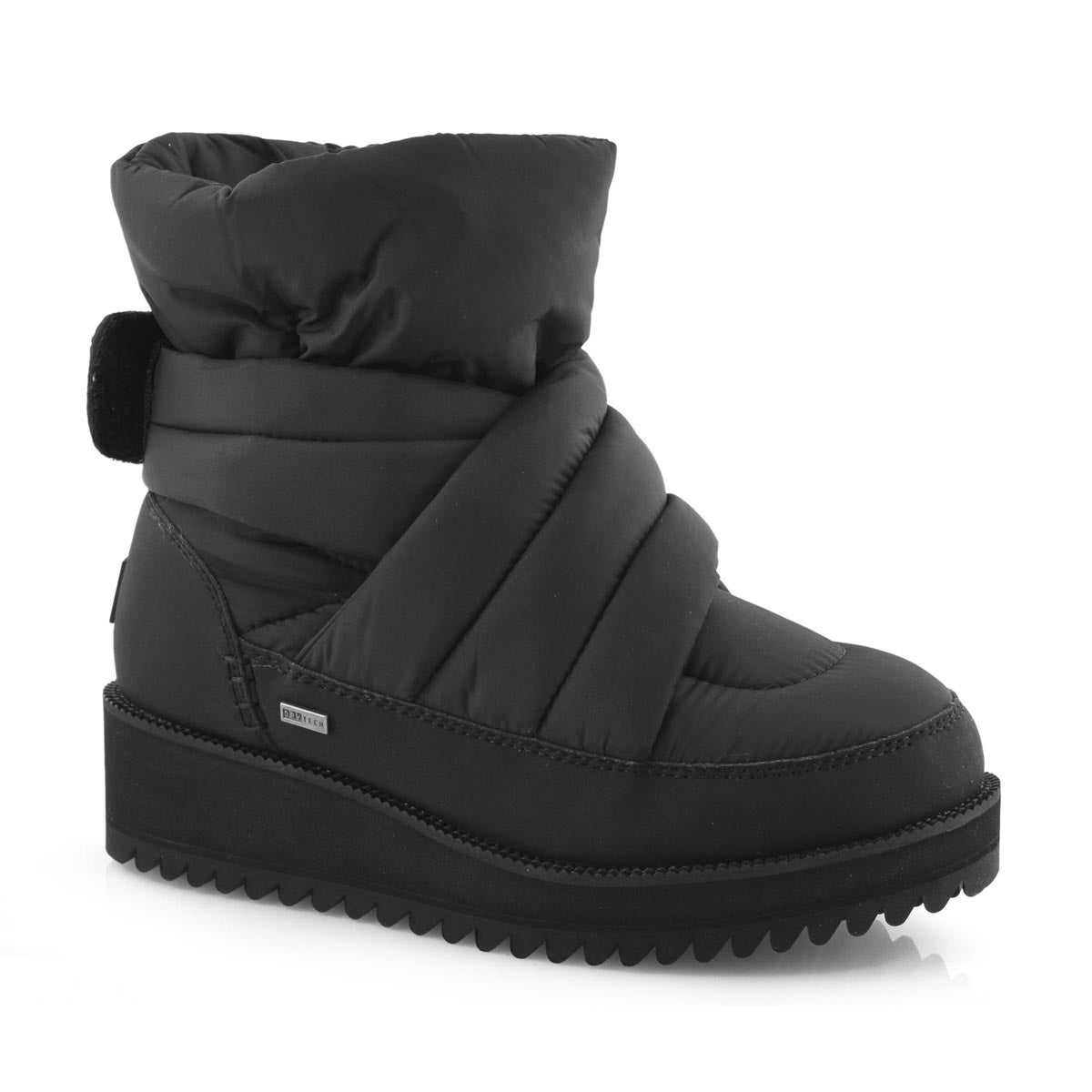 Lds Montara black slip on winter boot