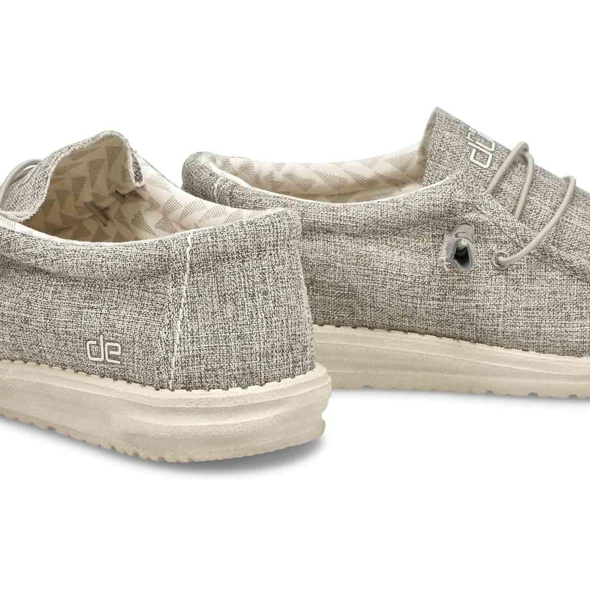Mns Wally Linen iron casual shoe