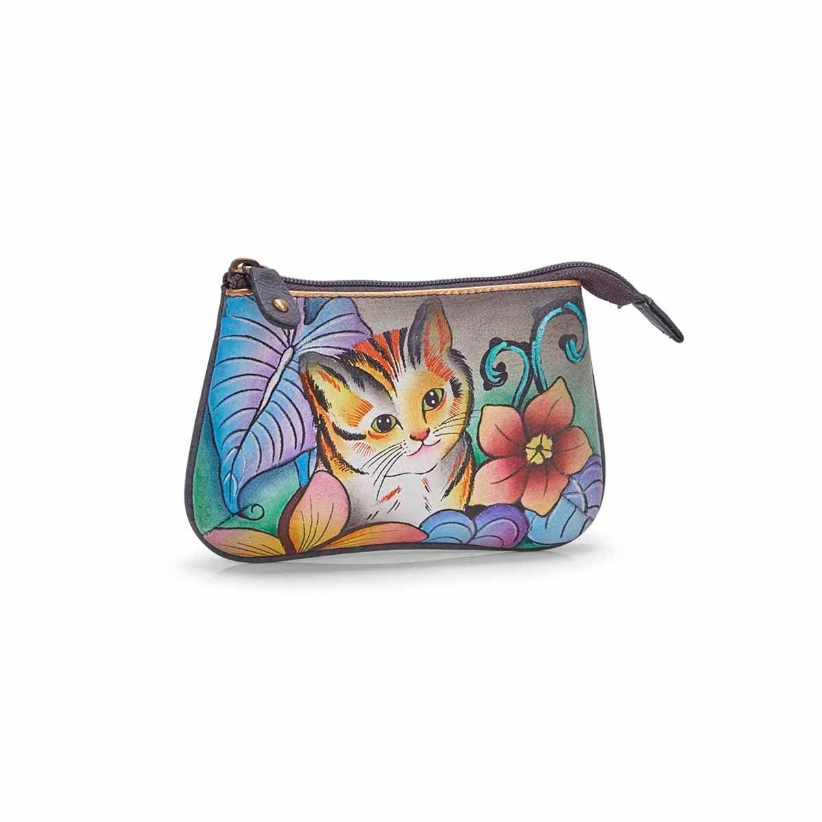 Women's CATS IN WONDERLAND coin purse
