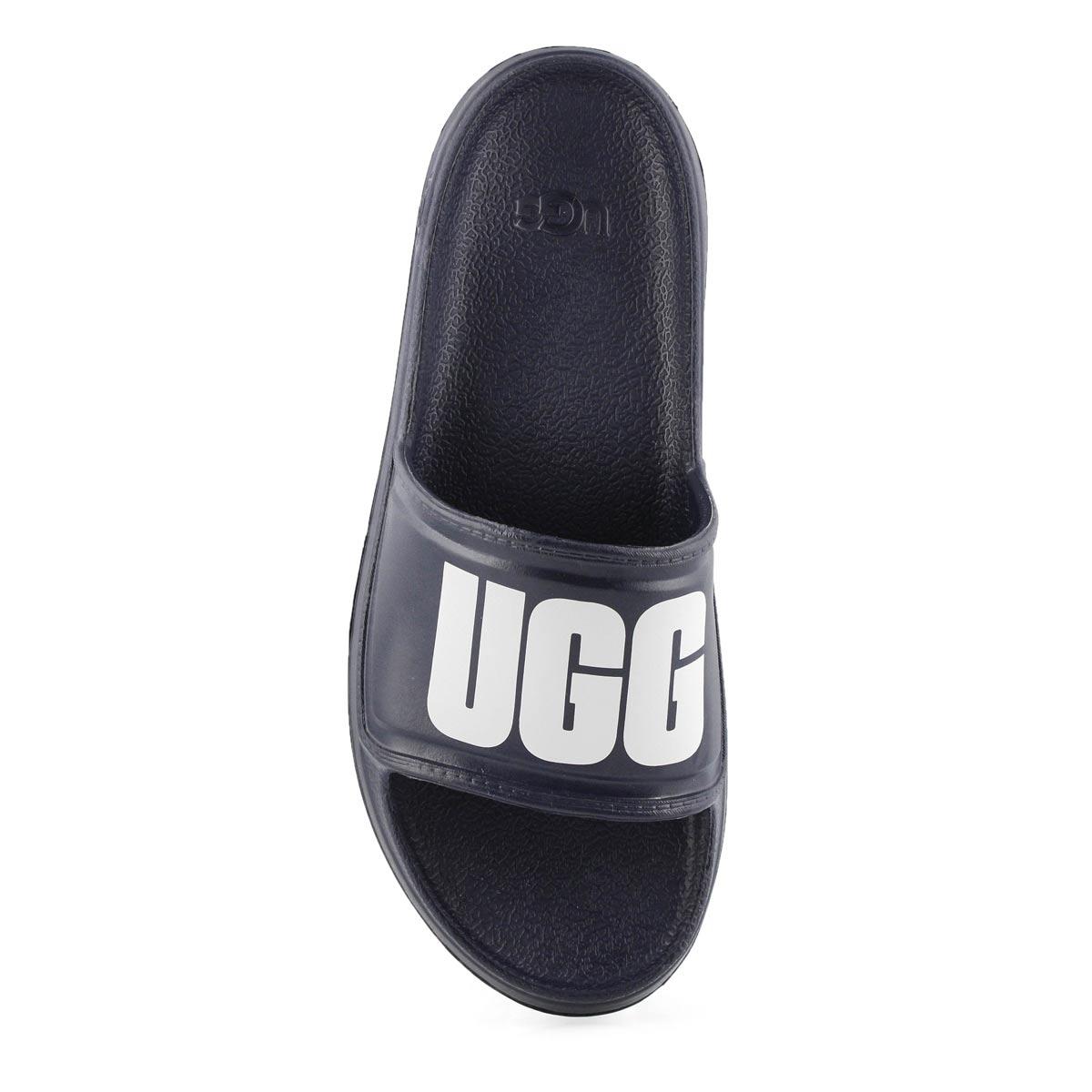 Mns Wilcox dk sapphire slide sandal