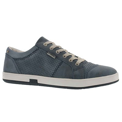 Mns Gatteo 01 ocean leather lace up snkr