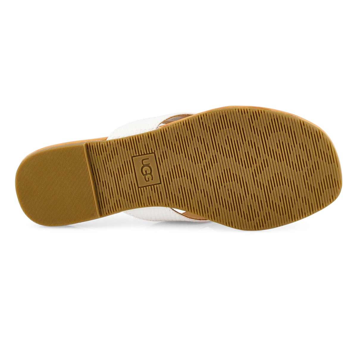 Lds Tuolumne white thong sandal
