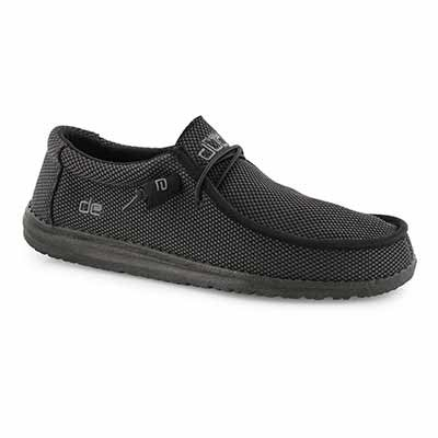 Mns Wally L Sox black casual shoe