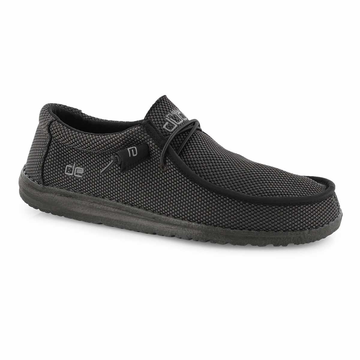 Mns Wally L Sox black casual shoe