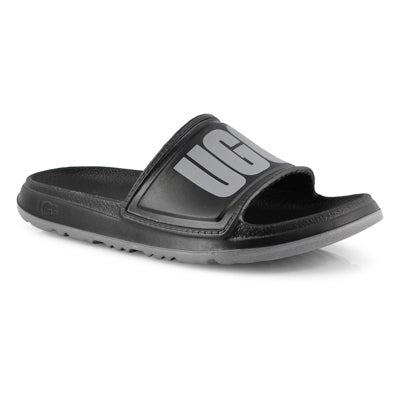 Lds Wilcox black slide sandal