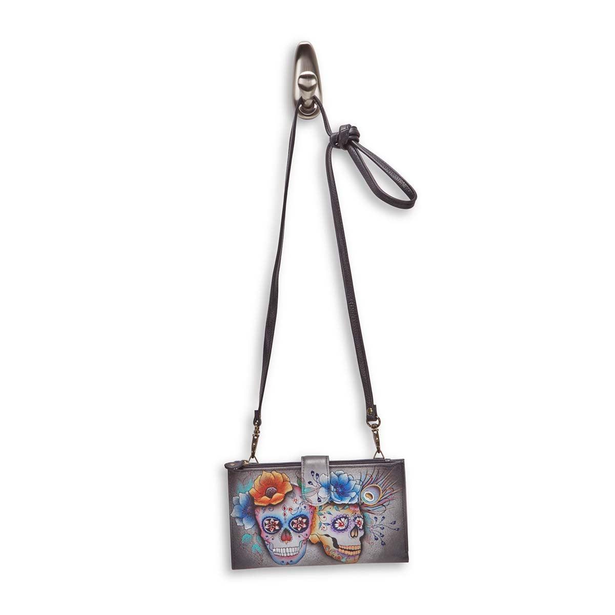 Painted Calaveras de Azucar phncs/wallet