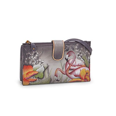Painted FlamboyantFlamingo phncse/wallet