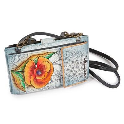 Anuschka Women's FLORAL FANTASY phonecase/wallet