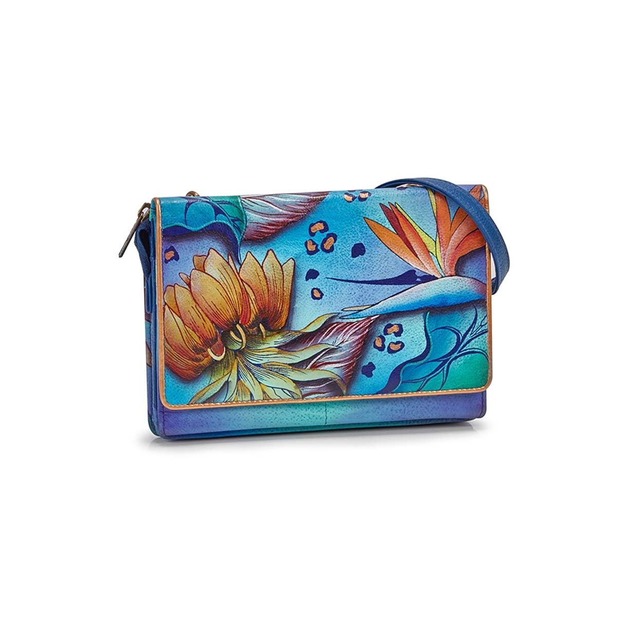 Printed Tropical Dream convert. clutch