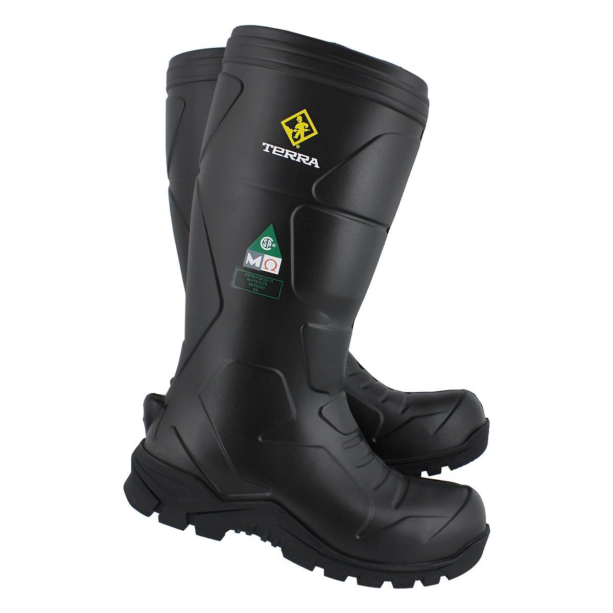 Mns Narvik black slip on CSA boot