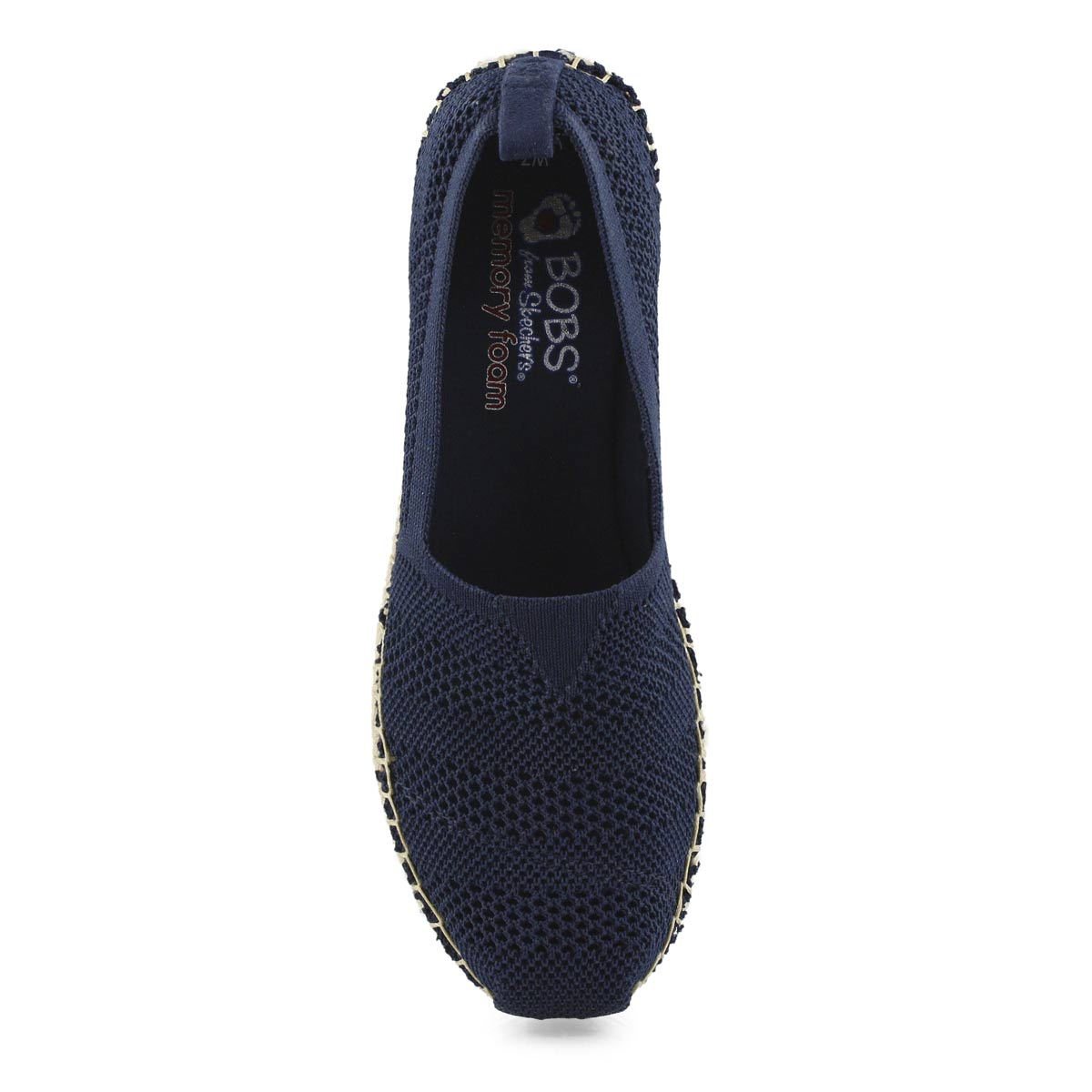 Lds Bobs Breeze navy slip on