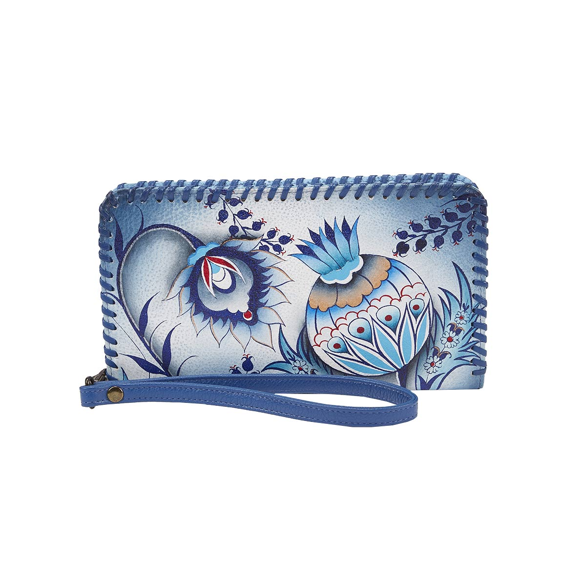 Sac-pochette à dragonne Bewitching Blues