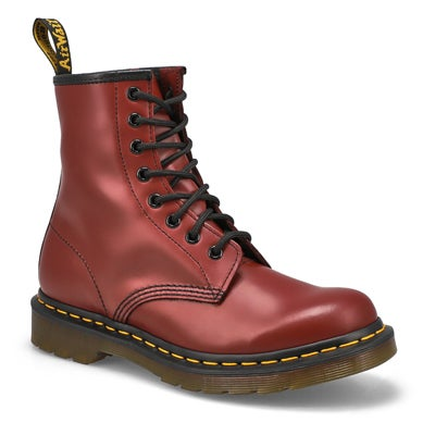 Dr Martens Women's 1460 8-Eye cherry smooth leather boots