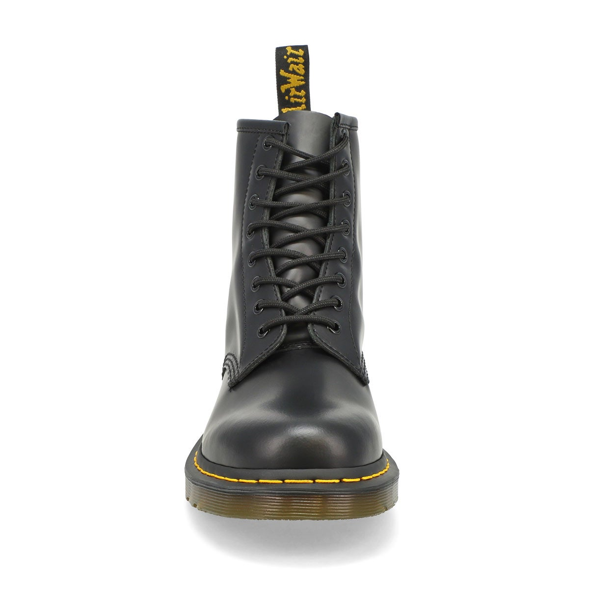 Mns 1460 8 eye black smooth boot