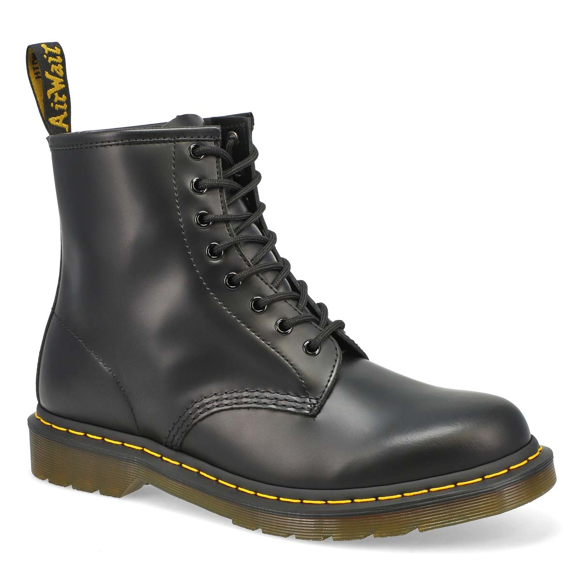 Men's 1460 8-Eye black smooth leather boots