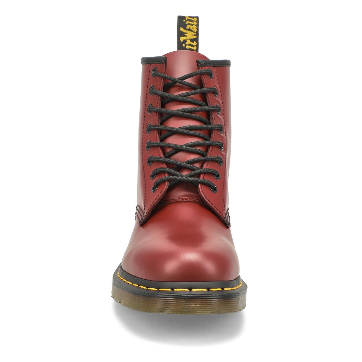 Mns 1460 8-Eye cherry rd smooth DMC sole