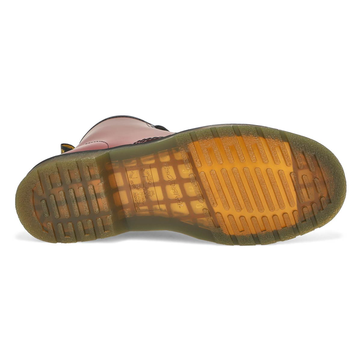 Botte 1460 8 œillets, rouge cerise, hom