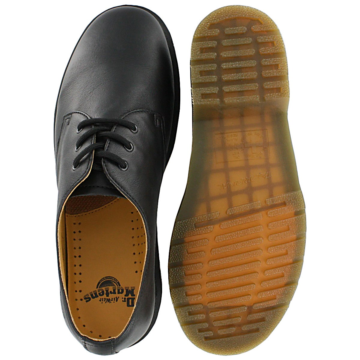 Mns 1461 black 3 eye Gibson oxford