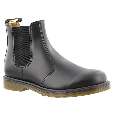 Dr Martens Men's 2976 CHELSEA black smooth boots