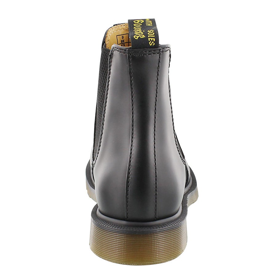 Mns 2976 Chelsea black smooth boot