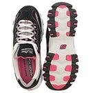 Lds D'Lites Life Saver blk/pnk sneaker