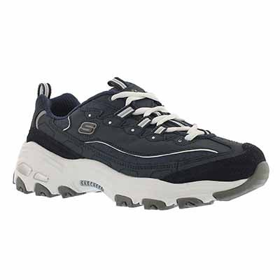 Skechers Women's D'LITES ME TIME navy/white sneakers