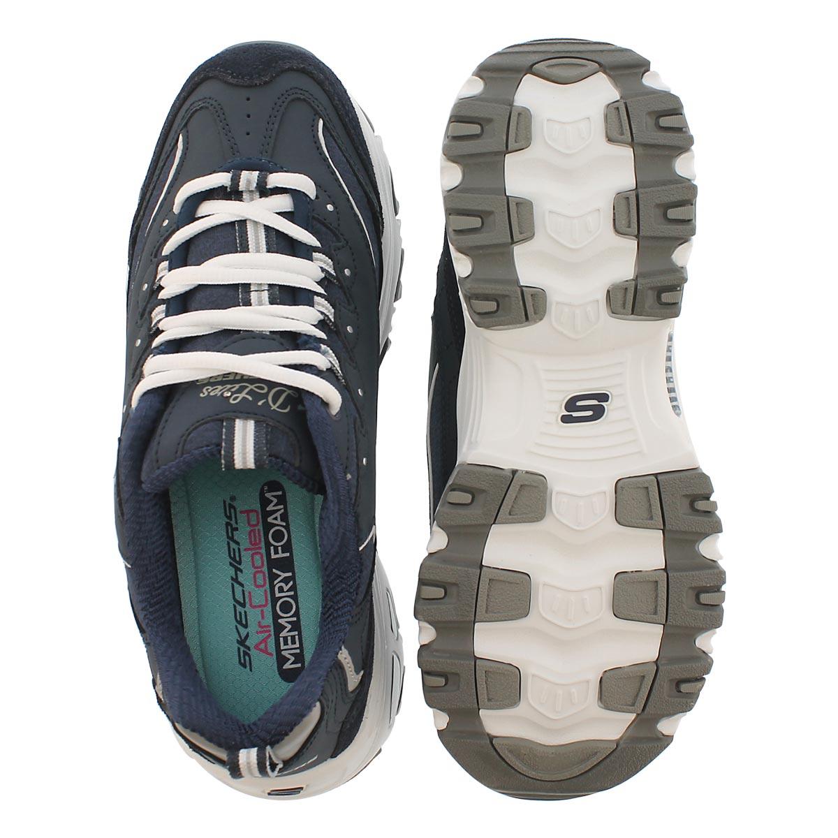Lds D'Lites Me Time navy/wht sneaker