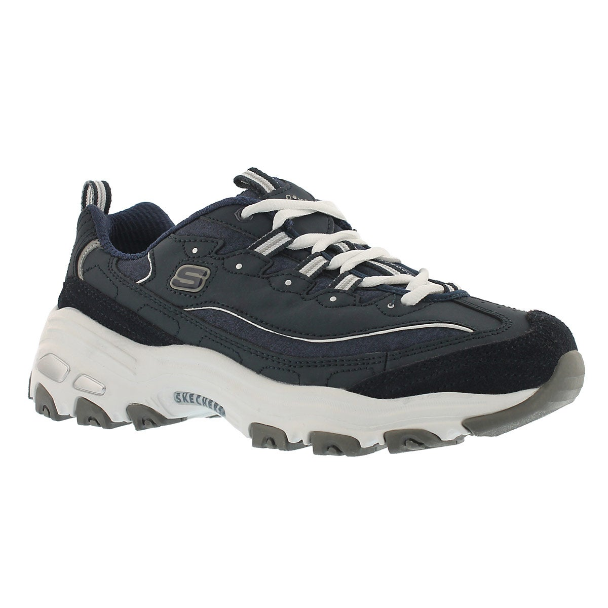 Women's D'LITES ME TIME navy/white sneakers