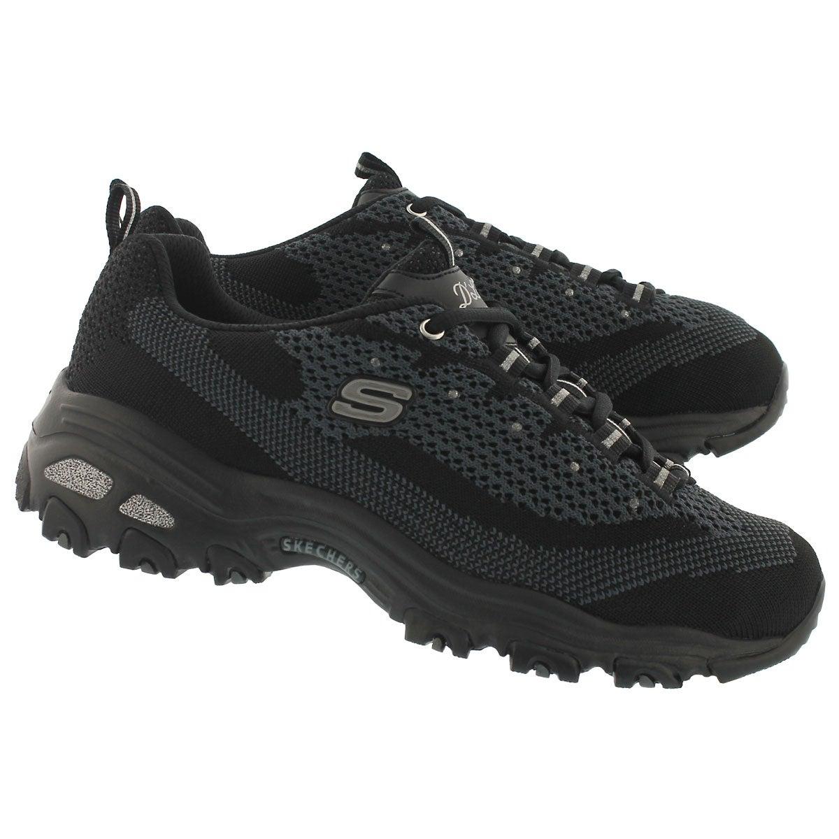 Lds D'Lites Reinvention black sneaker