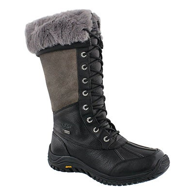 UGG Australia Women's ADIRONDACK TALL black waterproof boots