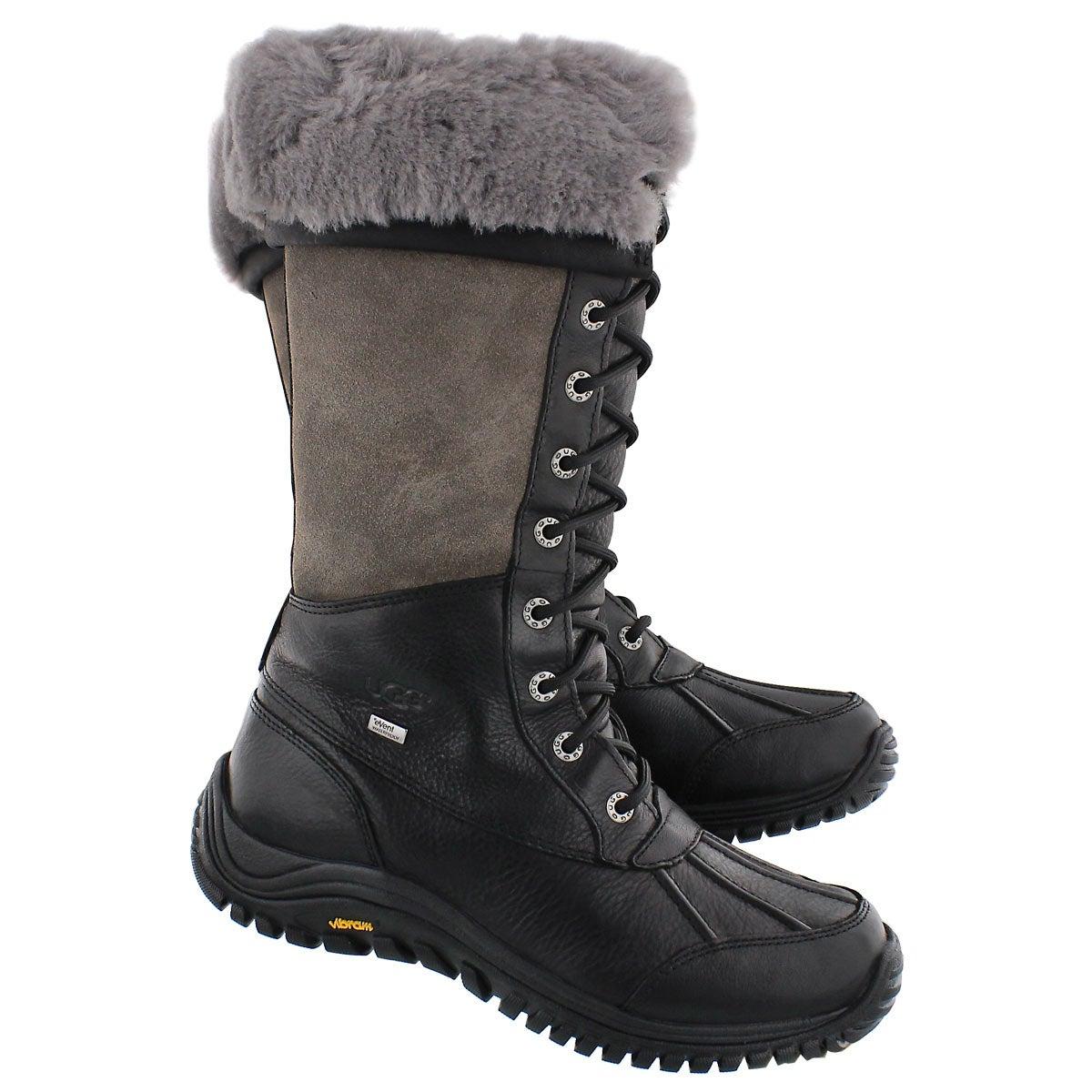Lds Adirondack tall black winter boot