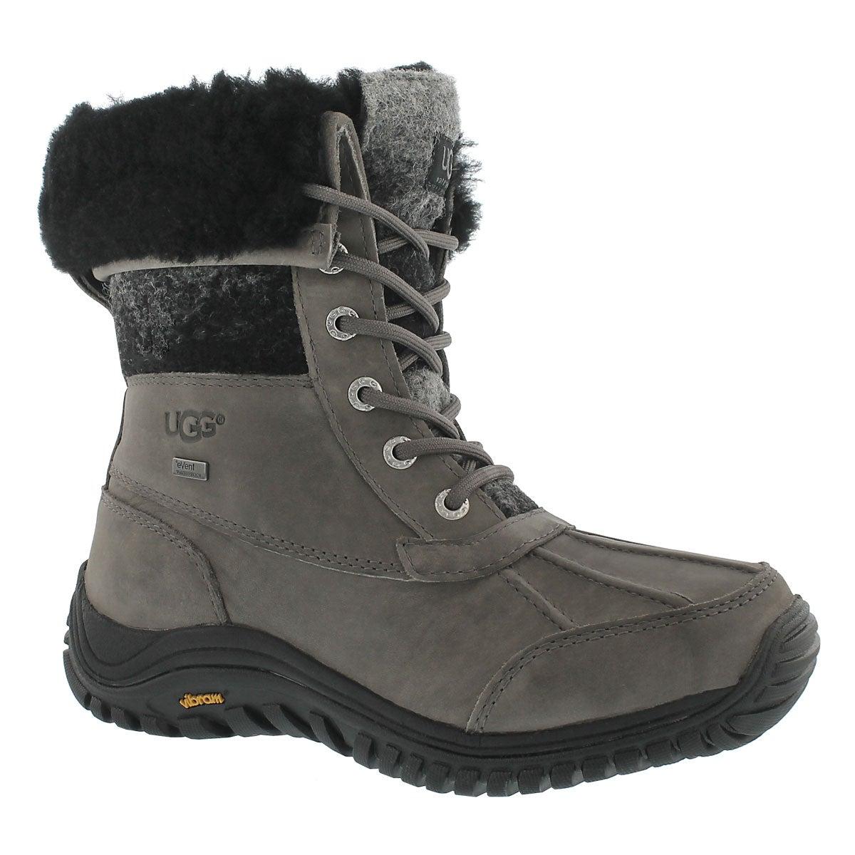 Lds Adirondack II charcoal winter boot