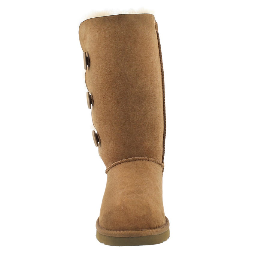 Lds BaileyTriplet chesnut sheepskin boot