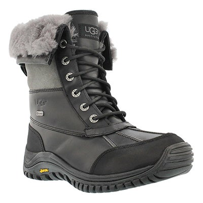 UGG Australia Women's ADIRONDACK II black/grey winter boots