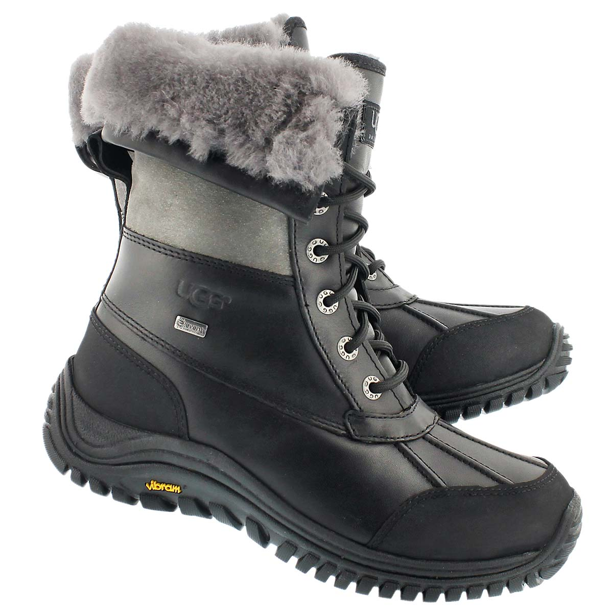 Lds Adirondack II blk/gry winter boot