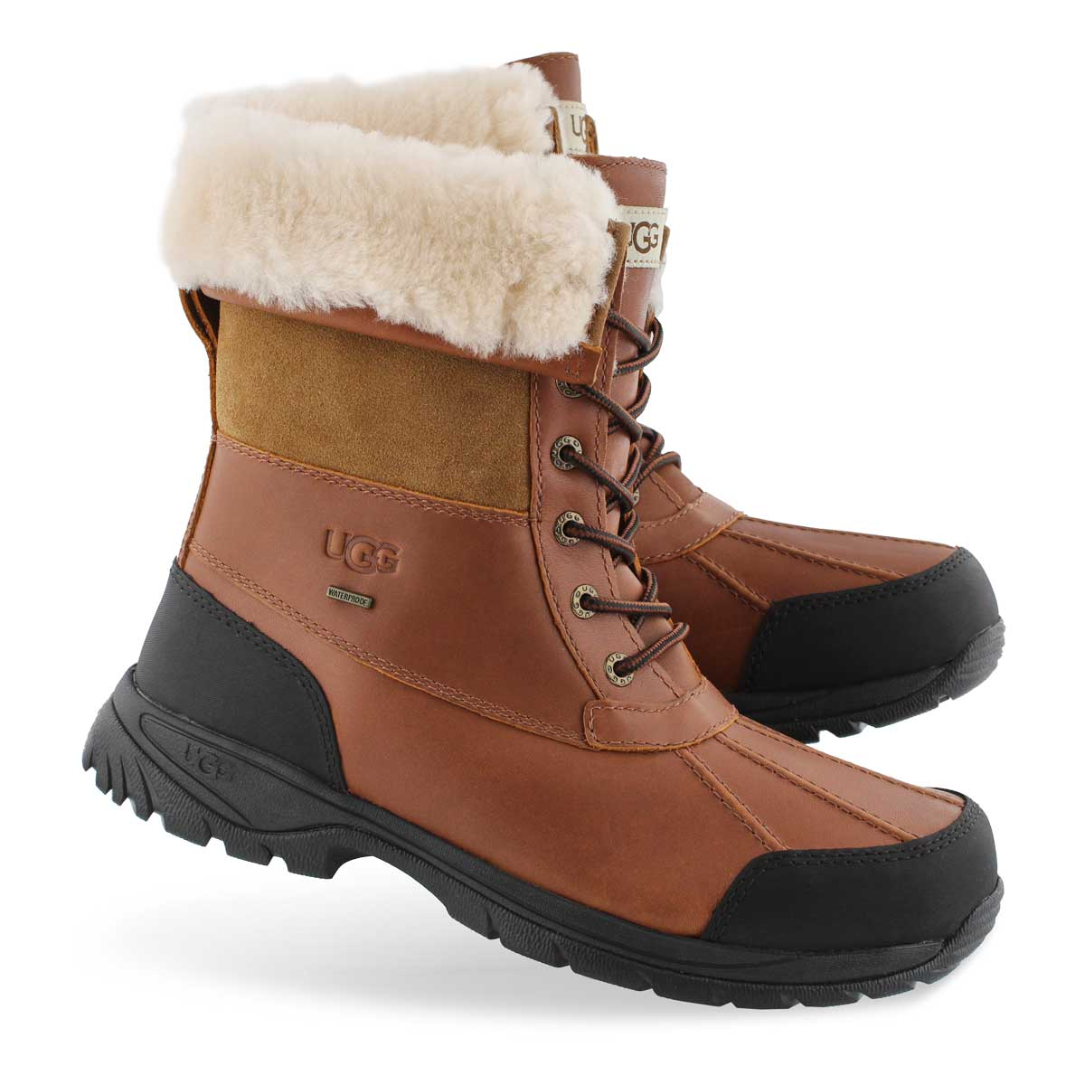 Mns Butte worchester sheepskin boot