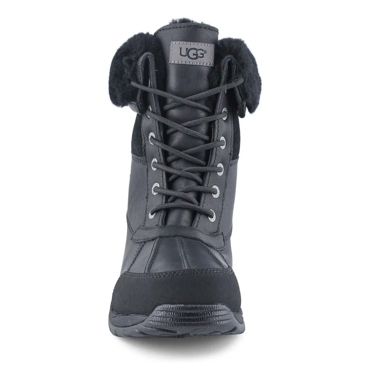 Mns Butte black sheepskin boot