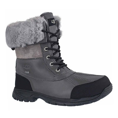 Mns Butte metal sheepskin boot
