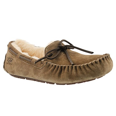 UGG Australia Mocassins mouton DAKOTA, feuille morte, femmes
