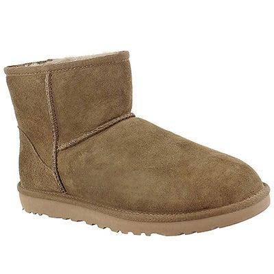 UGG Australia Women's CLASSIC MINI dry leaf sheepskin boots