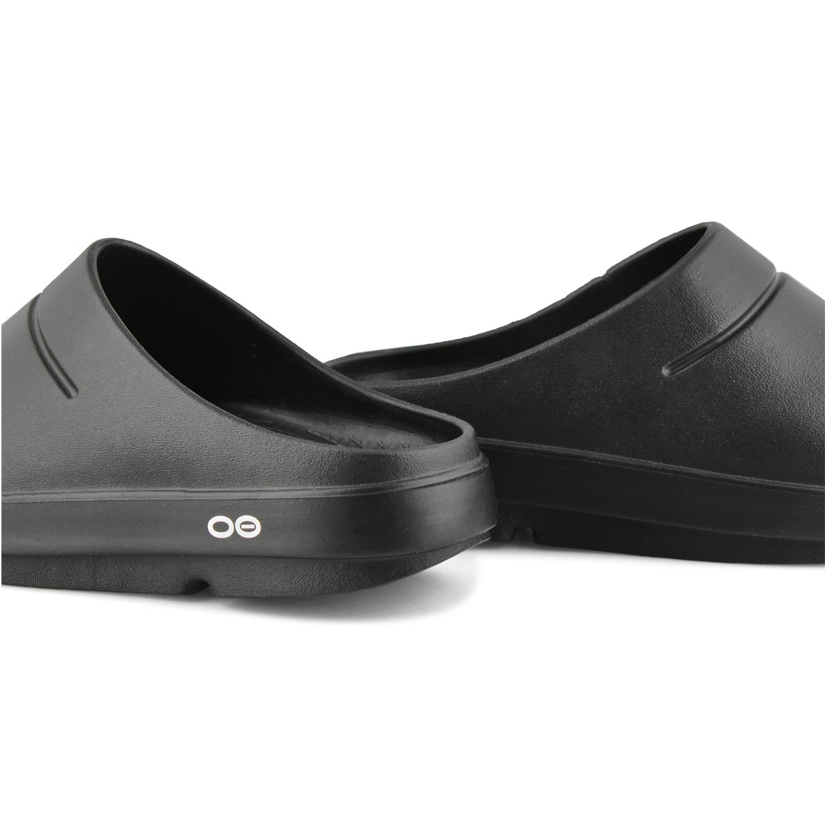 Lds OOcloog black matte casual clogs