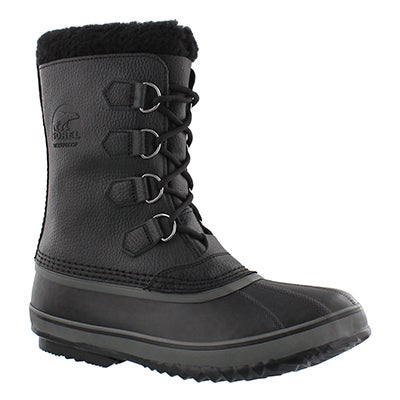 Sorel Men's 1964 PAC T black winter boots