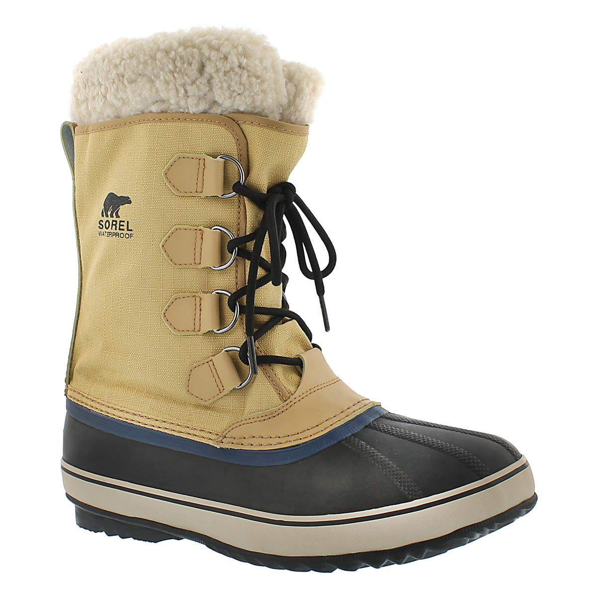 Men's 1964 PAC NYLON curry winter boots